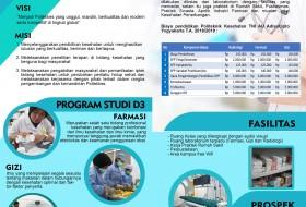 Brosur Polteknik Kesehatan TNI AU Adisutjipto