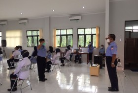 PEMBUKAAN PKKMB POLTEKKES TNI AU ADISUTJIPTO 2021