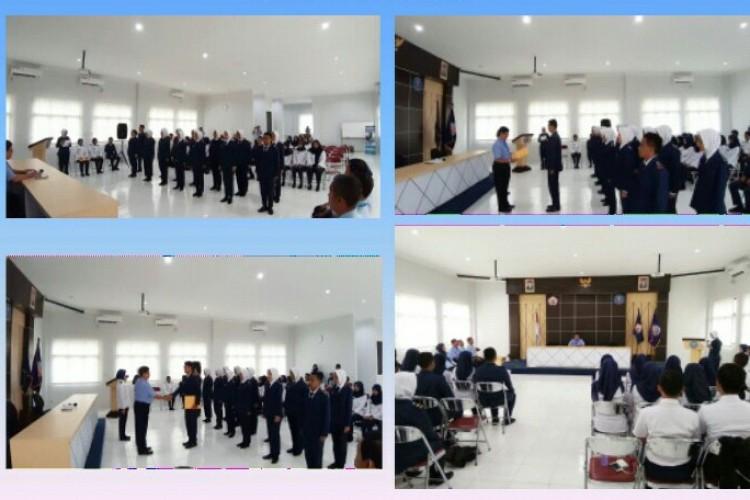 PELANTIKAN PENGURUS BEM POLTEKKES TNI AU ADISUTJIPTO PERIODE 2019-2020