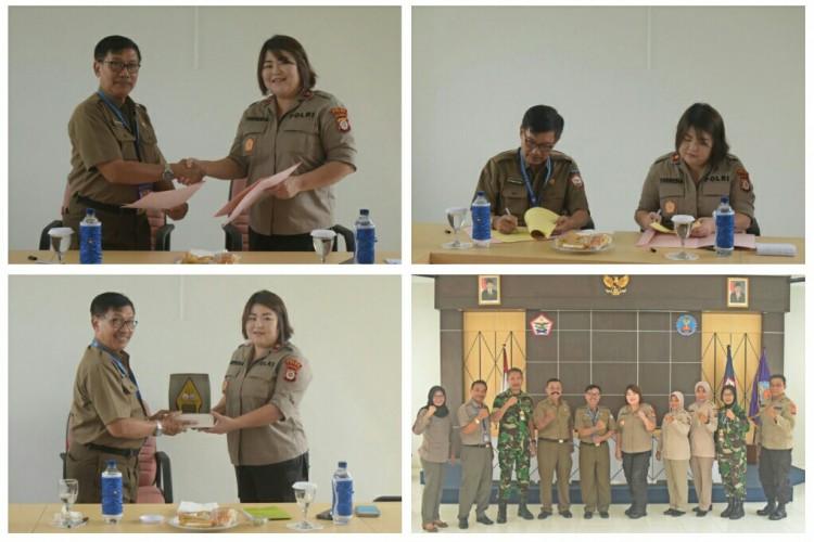PENANDATANGANAN MoU ANTARA POLTEKKES TNI AU ADISUTJIPTO DENGAN RS BHAYANGKARA
