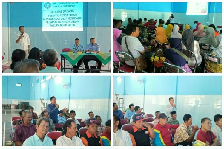 Penyuluhan Tentang Pencegahan Diabetes Melitus di Desa Gondang,Klaten