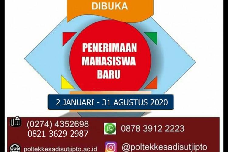 PENERIMAAN MAHASISWA BARU DIBUKA T.A.2020/2021