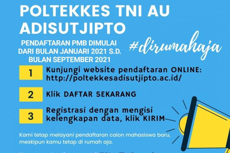PENERIMAAN MAHASISWA BARU DIBUKA T.A.2021/2022